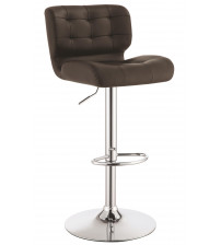 Coaster 100544 Dining Chairs and Bar Stools Upholstered Adjustable Bar Stool