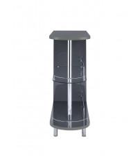 Coaster 101073 Bar Units and Bar Tables Contemporary Grey Bar Table