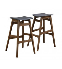Coaster 101437 Bar Units and Bar Tables Mid-Century Modern Angled Bar Stool