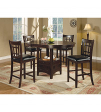 Coaster Furniture 102888 Lavon Counter Height Table
