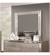 Coaster 204924 Leighton Beveled Dresser Mirror