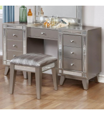 Coaster 204927 Leighton Vanity Desk and Stool