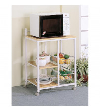 Coaster Furniture Kitchen Carts Collection Accents Serving Cart 2506