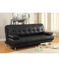 Coaster Furniture 300205 Faux Leather Convertible Sofa Bed