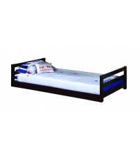 Coaster 400302 Bunks Triple Layer Bunk Bed in Cappuccino