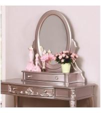 Coaster 400897 Caroline Vanity Mirror in Metallic Lilac