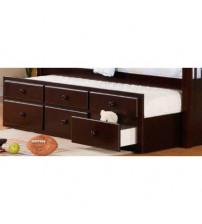 Coaster Furniture Logan Youth Storage in Cappuccino 460074