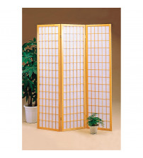 Coaster 4621 Folding Screens Three Panel Folding Floor Screen
