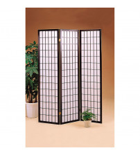 Coaster 4622 Folding Screens Three Panel Folding Floor Screen
