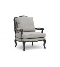 Baxton Studio 52348-Beige Antoinette Classic Antiqued French Accent Chair