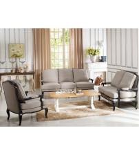 Baxton Studio 52348-Beige 3PC set Antoinette Classic Antiqued French Sofa Set in Beige