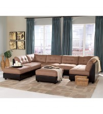 Coaster Furniture 551001 Two Tone Sectional Sofa Armless Chair