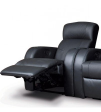 Coaster Furniture Cyrus Theater Collection Upholstery Motion Leather Recliner 600001