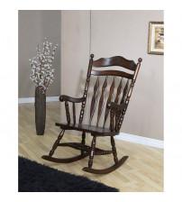 Coaster Furniture Upholstery Motion Fabric Rocker 600187