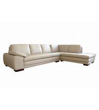 Baxton Studio 625-M9818-Sofa/Lying Diana Beige Sofa/Chaise Sectional