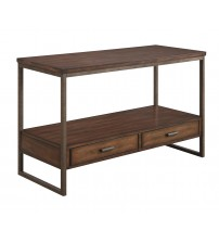 Coaster 704309 70430 Industrial Sofa Table with Two Drawers
