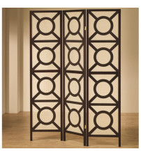 Coaster Furniture 900090 Circle Pattern Folding Screen