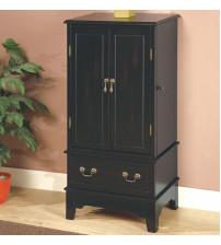 Coaster Furniture 900095 Jewelry Armoire in Black