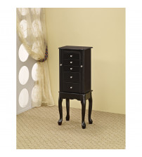 Coaster Furniture 900139 Jewelry Armoire in Queen Anne Style