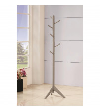Coaster 900632 Coat Racks Coat Rack with Six Pegs in Grey