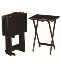 Coaster Furniture 901081 Tray Tables in Cappuccino