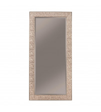 Coaster 901997 Accent Mirrors Accent Mirror with Colored Mosaic Frame Silver Finish