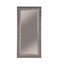 Coaster 901999 Accent Mirrors Accent Mirror with Colored Mosaic Frame Silver Finish