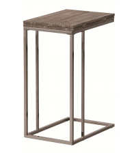 Coaster 902864 Accent Tables Weathered Snack Table in Weathered Grey