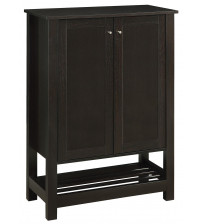 Coaster 950550 Accent Cabinets Shoe Cabinet/Accent Cabinet in Cappuccino