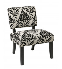 Ave Six Jasmine Accent Chair in Paradise JAS-P3
