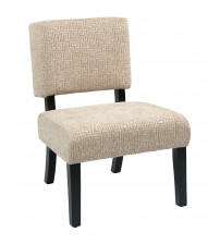 Ave Six Jasmine Accent Chair in Maze Oyster JAS-X37