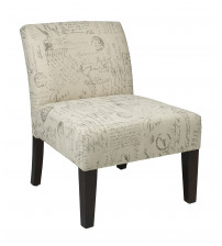 Ave Six Laguna Accent Chair in Script LAG51-S13