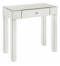 Ave Six Reflections Foyer Table REF07-SLV