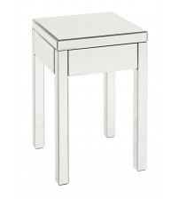 Ave Six Reflections End Table REF09-SLV