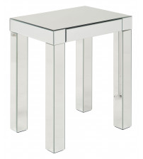 Ave Six Reflections Accent Table REF17-SLV