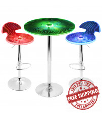 Lumisource B-SPYRA+2SPYRA Spyra 3-Piece Light Up Bar Set