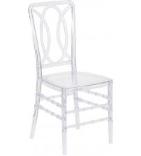Flash Furniture BH-H007-CRYSTAL-GG Flash Elegance Crystal Ice Stacking Chair