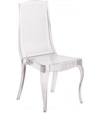 Flash Furniture BH-K002-CRYSTAL-GG Flash Elegance Crystal Ice Stacking Chair