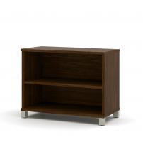 Bestar 120160-1130 Pro-Linea 2-Shelf Bookcase in Oak Barrel