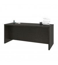 Bestar 120400-1132 Pro-Linea Executive Desk in Deep Grey