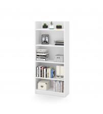 Bestar 120700-1117 Pro-Linea Bookcase in White