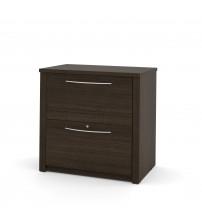 "Bestar 60630-3179 Embassy 30"" Lateral File in Dark Chocolate"