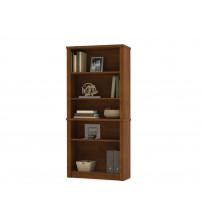 Bestar 60700-3163 Embassy modular bookcase in Tuscany Brown