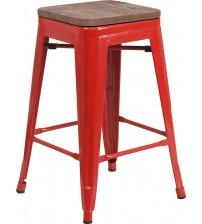 Flash Furniture CH-31320-24-RED-WD-GG 24