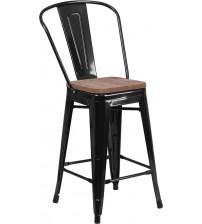 Flash Furniture CH-31320-24GB-BK-WD-GG 24