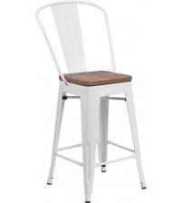 Flash Furniture CH-31320-24GB-WH-WD-GG 24