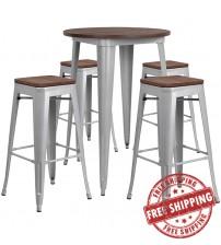 Flash Furniture CH-WD-TBCH-12-GG 30