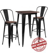 Flash Furniture CH-WD-TBCH-16-GG 23.5