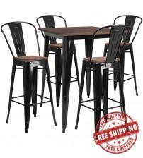 Flash Furniture CH-WD-TBCH-19-GG 31.5
