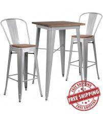 Flash Furniture CH-WD-TBCH-2-GG 23.5